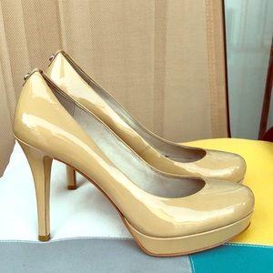 Michael Kors Cream/Beige Heels